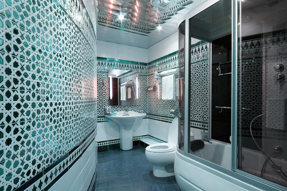 Mosaikfliesen Glasfliesen Badezimmer Dekoration