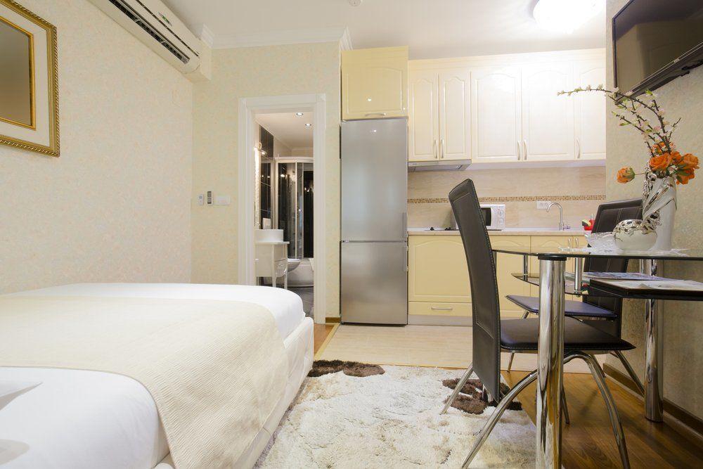kleine wohnungen clevere ideen zum einrichten ratgeber haus garten. Black Bedroom Furniture Sets. Home Design Ideas