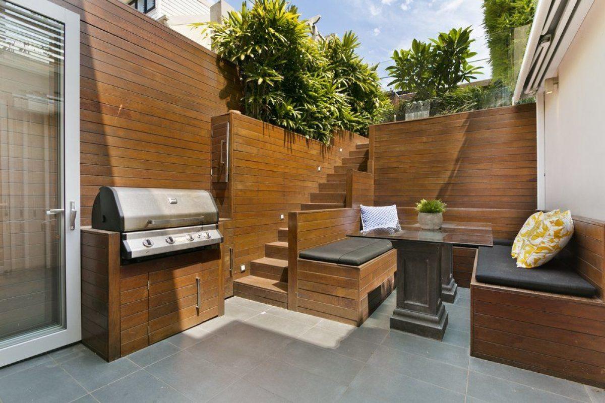 Die Terrassentrennwand Als Sichtschutz Ratgeber Haus Garten