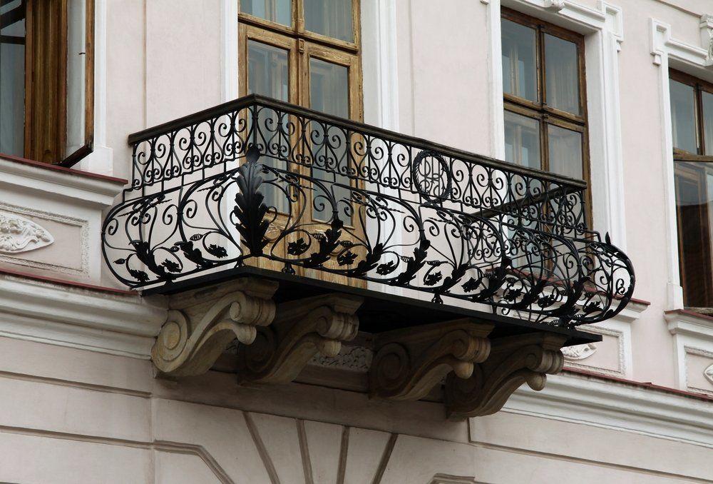 pflege f r schmiedeeiserne balkongel nder ratgeber haus garten. Black Bedroom Furniture Sets. Home Design Ideas