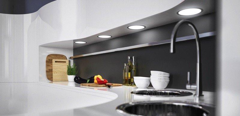 moderne k che auf der livingkitchen 2017 ratgeber haus. Black Bedroom Furniture Sets. Home Design Ideas