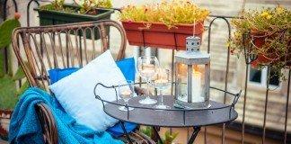 Garten Balkon Pflanzen Entspannung
