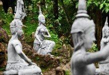 Gartenfiguren Buddha Asien Flair Garten