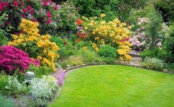Gartengestaltung Düfte Blumen Planen