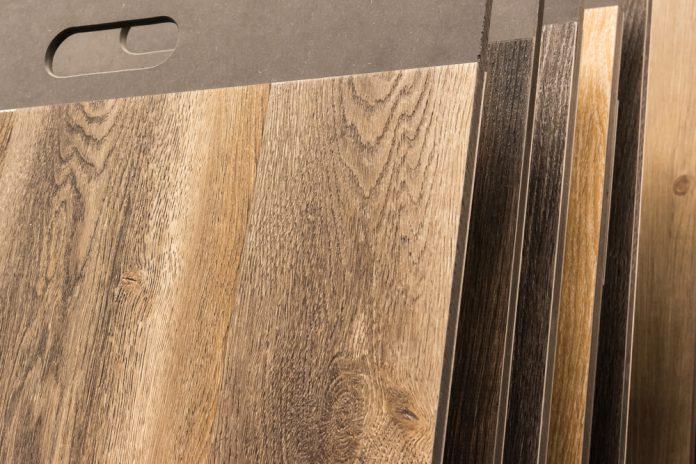 Vinyl Laminat Boden Struktur Holz Natur