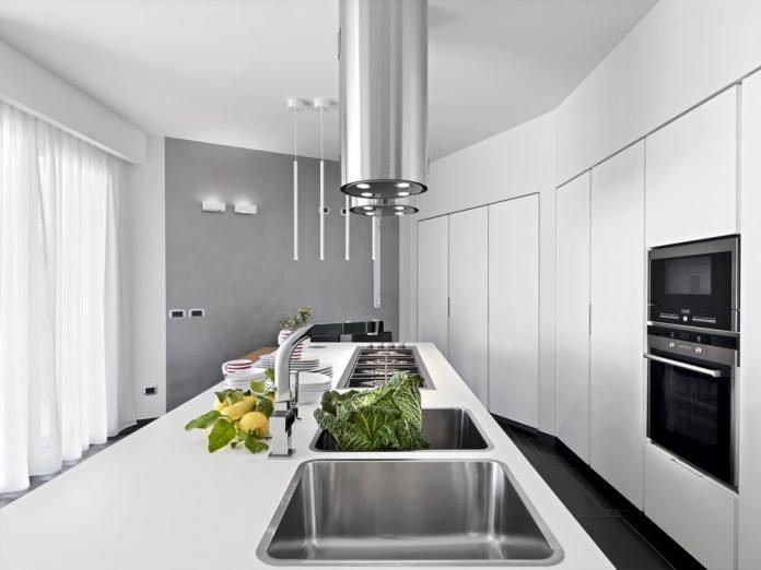 Dunstabzugshaube Modern Küche Weiss Tipps