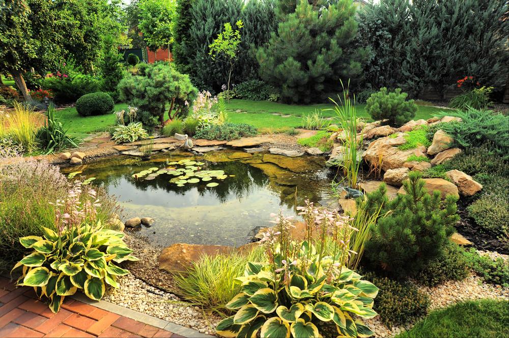 Die Schönsten Gartenteiche Inspiration Und Ideen Für Den Garten