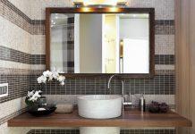 Gäste Bad Spiegel Spiegelschrank Badezimmer