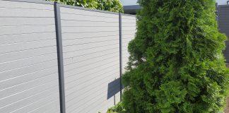 WPC Sichtschutzzaun Ratgeber Reihenhaus Zaun