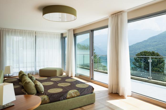 Botanical Natur Grün Einrichtung Schlafzimmer