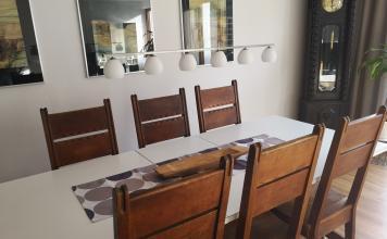 Esstischlampe Höhe Verstellbar zum Tisch