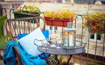 18 Tipps und Ideen bei der Gestaltung eines kleinen Balkons