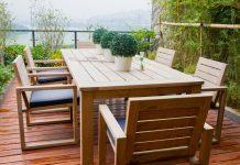 Holz Gartenmöbel brauchen Pflege